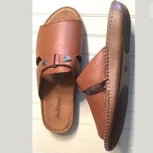 AUDITIONS Sparkle Women's Sandal Size 8 Saddle Tan